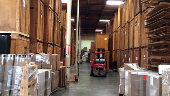 Safe Handling of Goods in Logistic or Storage